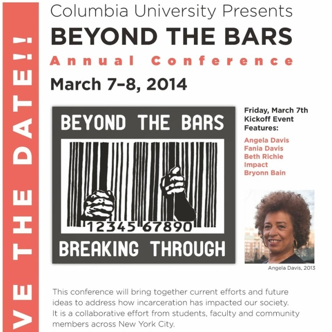 Save the Date! Beyond the Bars: Breaking Through May 7-8, 2014!