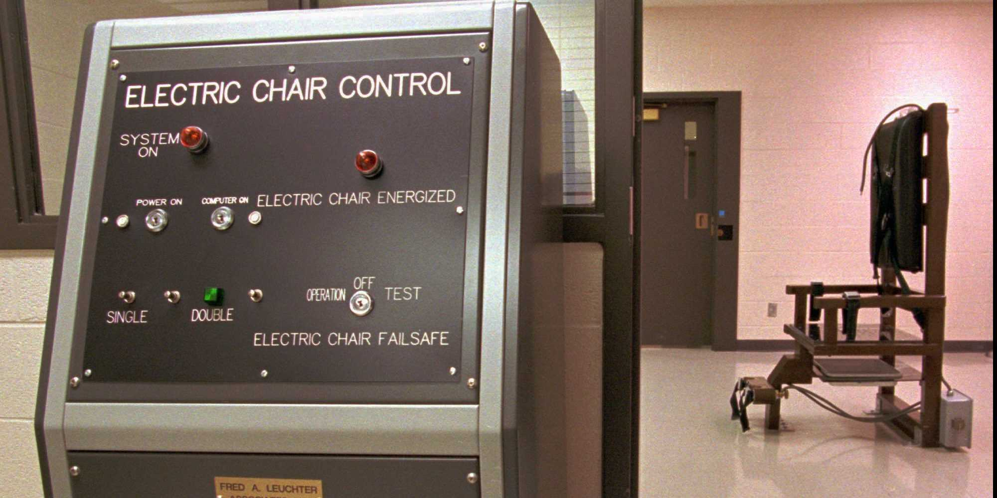 The electric chair execution - Tennessee Death Row Inmates Sue To Block Electric Chair