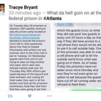 What is going on at USP Atlanta Prison Camp?